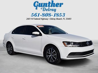 2017 Volkswagen Jetta 1.4T SE 4 Door FWD Intercooled Turbo Regular Unleaded I-4 1.4 L/85 Engine Automatic Sedan