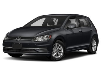 2019 Deep Black Pearl Volkswagen Golf SE 4 Door Intercooled Turbo Regular Unleaded I-4 1.4 L/85 Engine FWD
