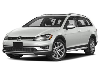 2019 Pure White Volkswagen Golf Alltrack SEL Crossover 4 Door Intercooled Turbo Regular Unleaded I-4 1.8 L/110 Engine