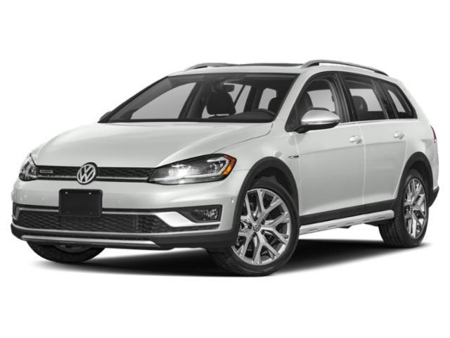 2019 Pure White Volkswagen Golf Alltrack SEL Crossover AWD Automatic Intercooled Turbo Regular Unleaded I-4 1.8 L/110 Engine 4 Door