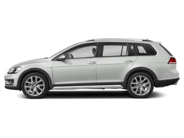 2019 Pure White Volkswagen Golf Alltrack SEL Automatic AWD 4 Door Intercooled Turbo Regular Unleaded I-4 1.8 L/110 Engine Crossover