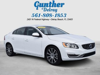 2017 Volvo S60 Inscription Automatic Sedan Intercooled Turbo Regular Unleaded I-4 2.0 L/120 Engine FWD