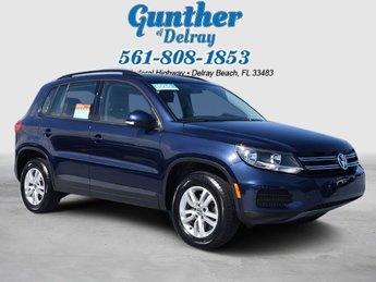 2016 Night Blue Metallic Volkswagen Tiguan S SUV Intercooled Turbo Premium Unleaded I-4 2.0 L/121 Engine Automatic FWD 4 Door
