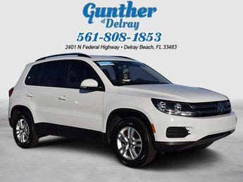 2016 Volkswagen Tiguan S 4 Door FWD Automatic Intercooled Turbo Premium Unleaded I-4 2.0 L/121 Engine SUV
