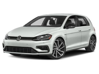 2019 Oryx White Pearl Volkswagen Golf R 4 Door Intercooled Turbo Premium Unleaded I-4 2.0 L/121 Engine AWD Hatchback