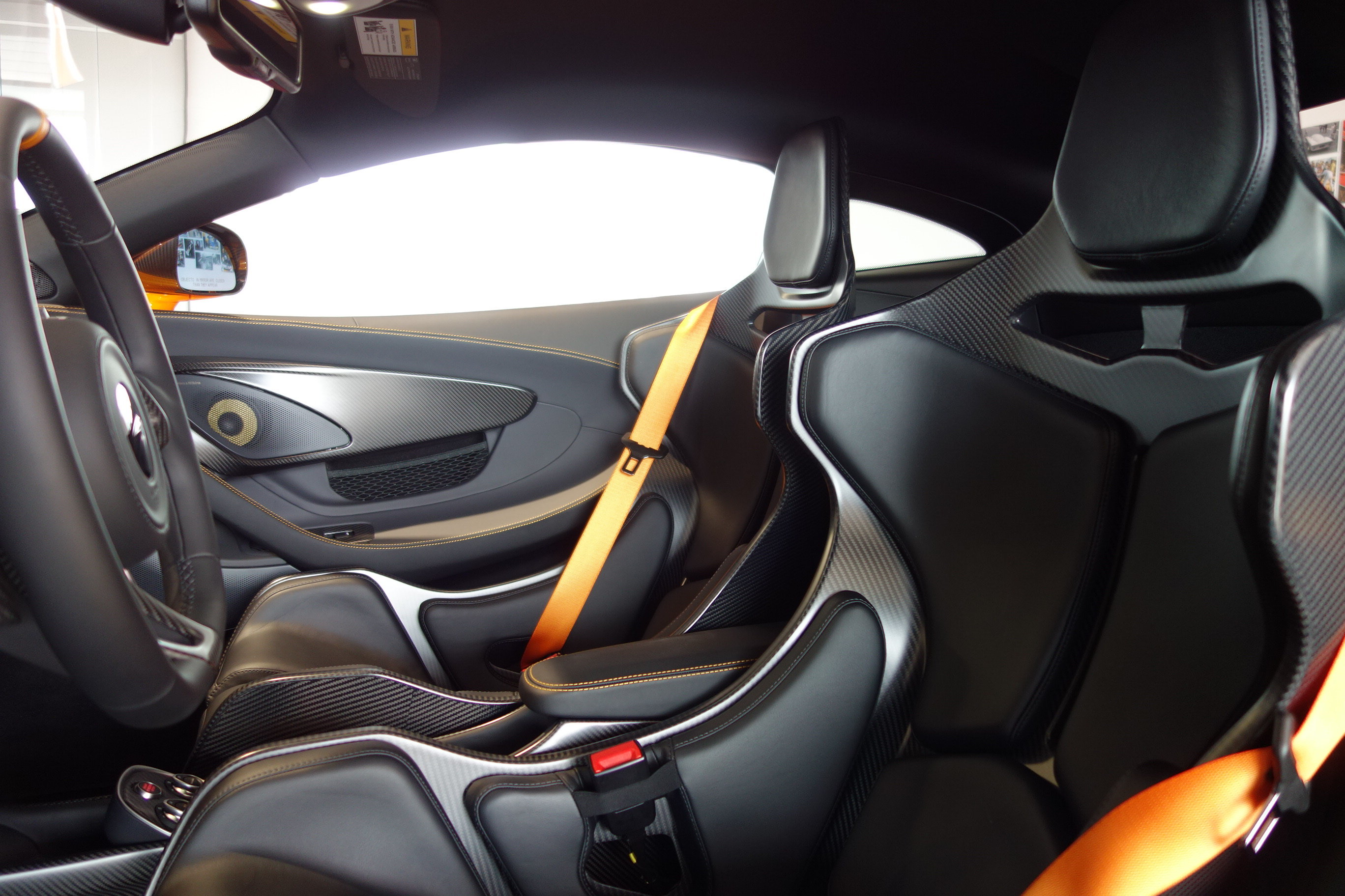 2019 McLaren 600LT 3.8L V8 Twin Turbocharged Engine Automatic Coupe