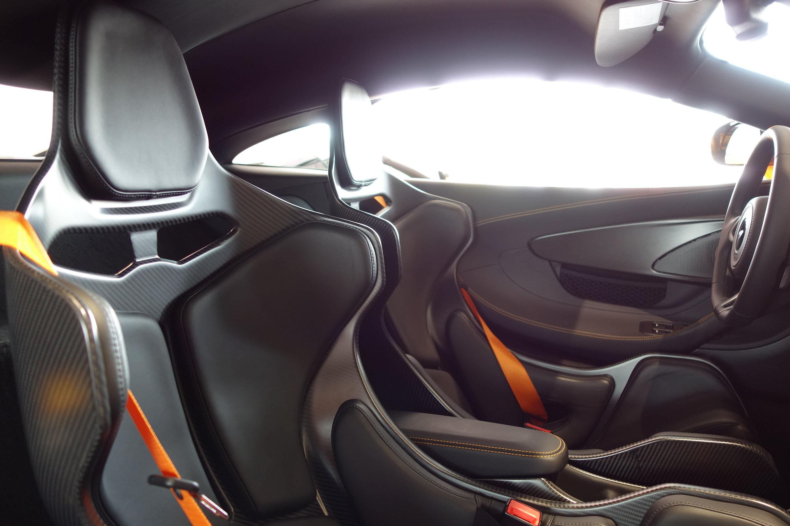 2019 Papaya Spark McLaren 600LT 3.8L V8 Twin Turbocharged Engine Automatic Coupe