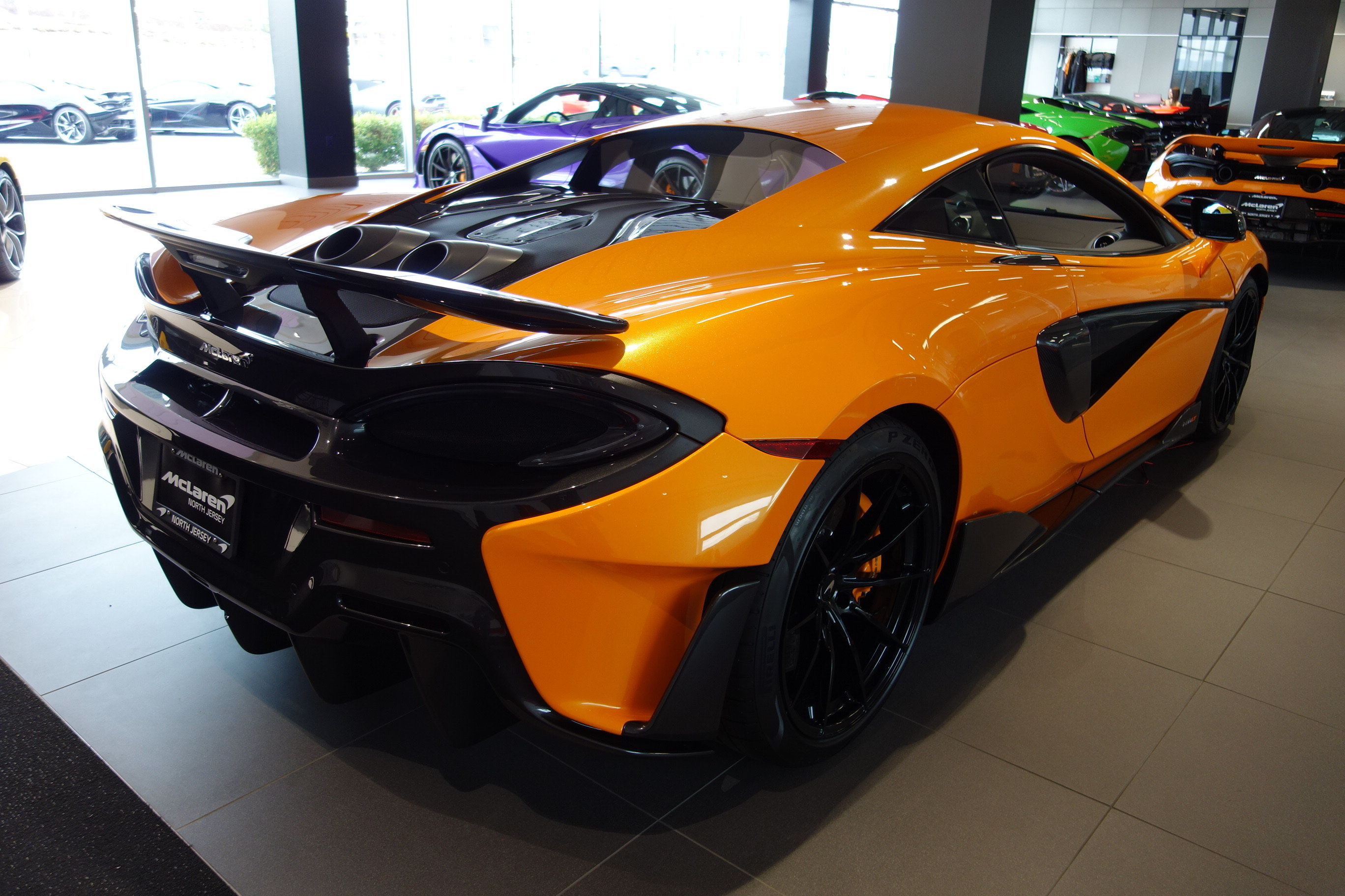 2019 McLaren 600LT Coupe Automatic 3.8L V8 Twin Turbocharged Engine