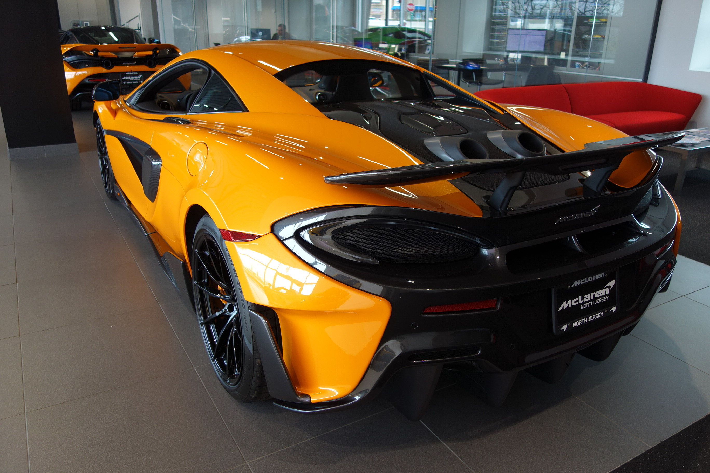 2019 Papaya Spark McLaren 600LT 3.8L V8 Twin Turbocharged Engine Coupe Automatic