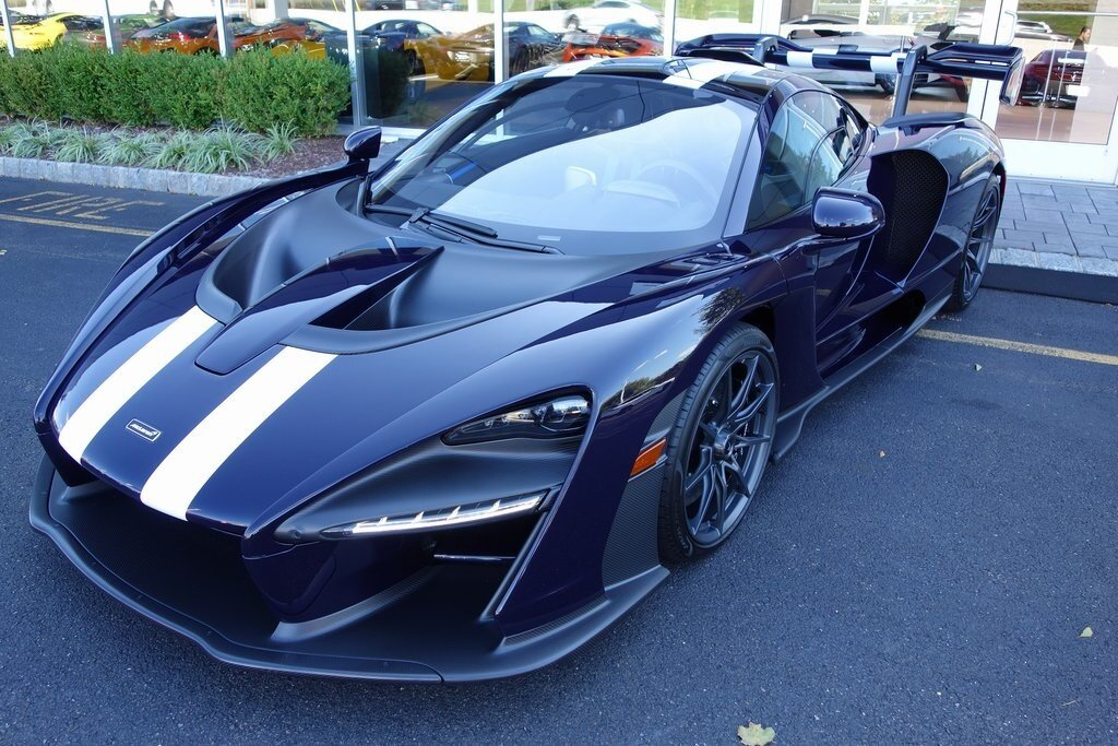 2019 Blu Alfa McLaren SENNA 2 Door Coupe Automatic