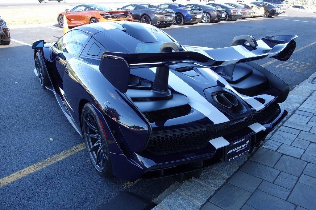 2019 McLaren SENNA 2 Door 4.0L DOHC Engine RWD Coupe