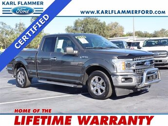 2018 Magnetic Metallic Ford F-150 XLT RWD 4 Door Automatic