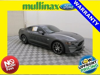 2020 Magnetic Metallic Ford Mustang EcoBoost RWD 2 Door Coupe Automatic 2.0L I4 Turbocharged DOHC 16V LEV II 310hp Engine