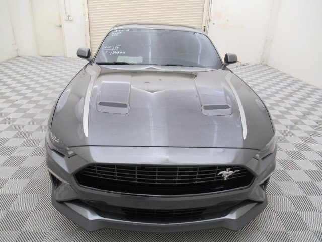 2020 Magnetic Metallic Ford Mustang EcoBoost 2 Door RWD 2.0L I4 Turbocharged DOHC 16V LEV II 310hp Engine Automatic