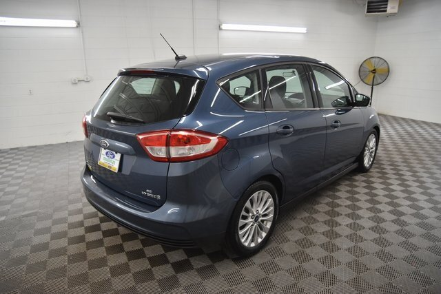 2018 Blue Metallic Ford C-Max Hybrid SE Automatic (CVT) Hatchback I4 Hybrid Engine 4 Door
