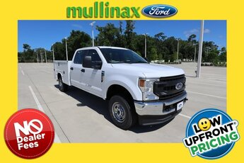 2021 Oxford White Ford Super Duty F-250 SRW XL 4X4 4 Door Truck