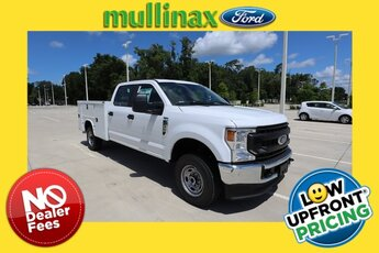 2021 Oxford White Ford Super Duty F-250 SRW XL 6.2L V8 EFI SOHC 16V Flex Fuel Engine Automatic 4X4 Truck