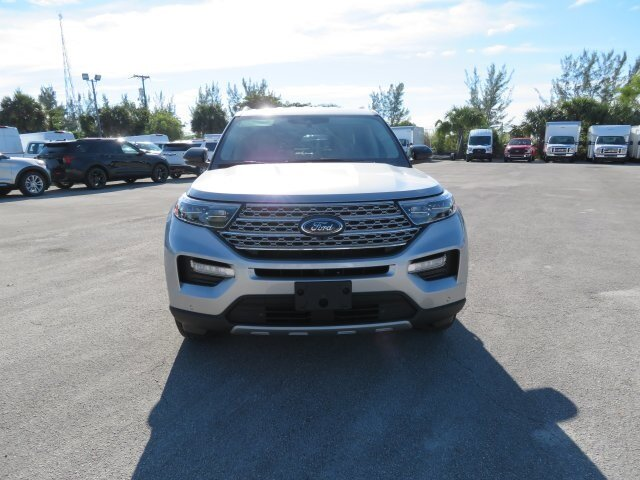 2021 Iconic Silver Metallic Ford Explorer Limited 3.0L I4 PDI Hybrid Turbocharged DOHC 16V LEV3-ULEV70 300hp Engine 4 Door Automatic SUV