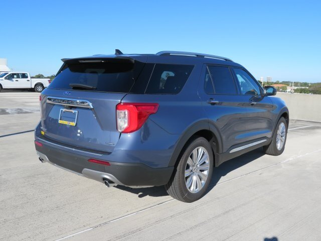 2021 Ford Explorer Limited 3.0L I4 PDI Hybrid Turbocharged DOHC 16V LEV3-ULEV70 300hp Engine SUV 4 Door RWD Automatic