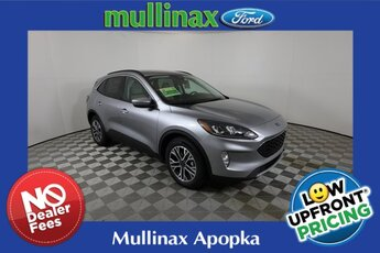 2021 Iconic Silver Metallic Ford Escape SEL Automatic 4 Door 1.5L EcoBoost Engine SUV