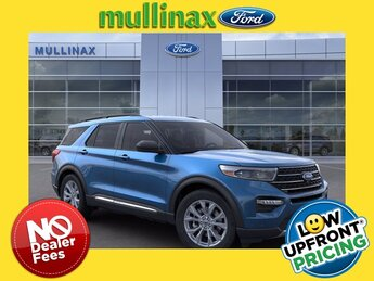 2021 Ford Explorer XLT 2.3L EcoBoost I-4 Engine Automatic RWD 4 Door SUV