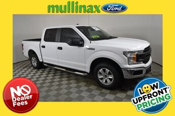 2018 Oxford White Ford F-150 XL 5.0L V8 Ti-VCT Engine Truck 4 Door RWD Automatic