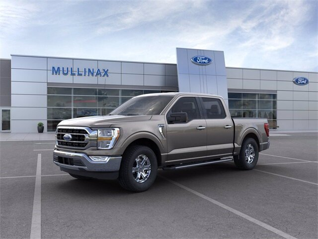 2021 Stone Gray Ford F-150 XLT 2.7L V6 EcoBoost Engine Truck Automatic 4 Door RWD