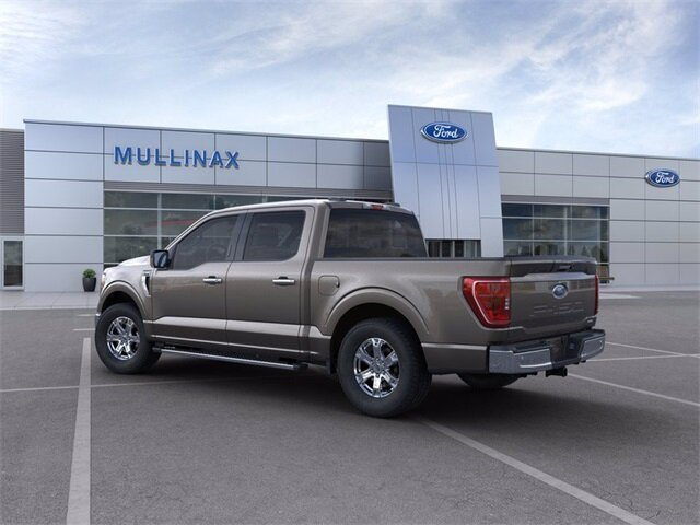 2021 Stone Gray Ford F-150 XLT 2.7L V6 EcoBoost Engine Automatic RWD 4 Door