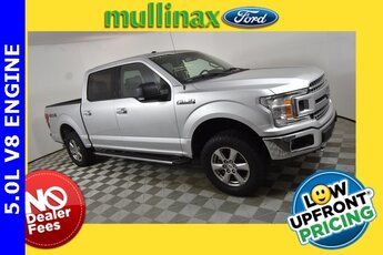 2018 Ingot Silver Ford F-150 XLT 4 Door 4X4 Automatic 5.0L V8 Engine Truck