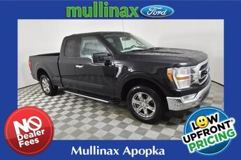 2021 Agate Black Metallic Ford F-150 XLT Truck 3.3L V6 PFDI Engine 4 Door Automatic RWD