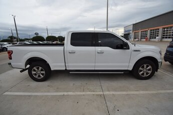 2018 Oxford White Ford F-150 XLT 4 Door 3.5L V6 Engine Automatic Truck