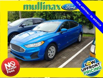 2019 Ford Fusion S Car 2.5L iVCT Engine 4 Door Automatic