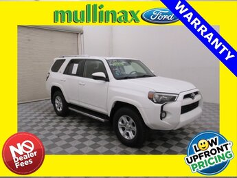 2017 Super White Toyota 4Runner SR5 4 Door 4X4 4.0L V6 SMPI DOHC Engine