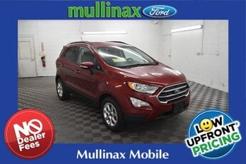 2021 RUBY RED TINT Ford EcoSport SE 4 Door FWD SUV EcoBoost 1.0L I3 GTDi DOHC Turbocharged VCT Engine Automatic