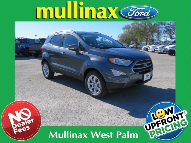 2021 Smoke Metallic Ford EcoSport SE SUV 4 Door Automatic