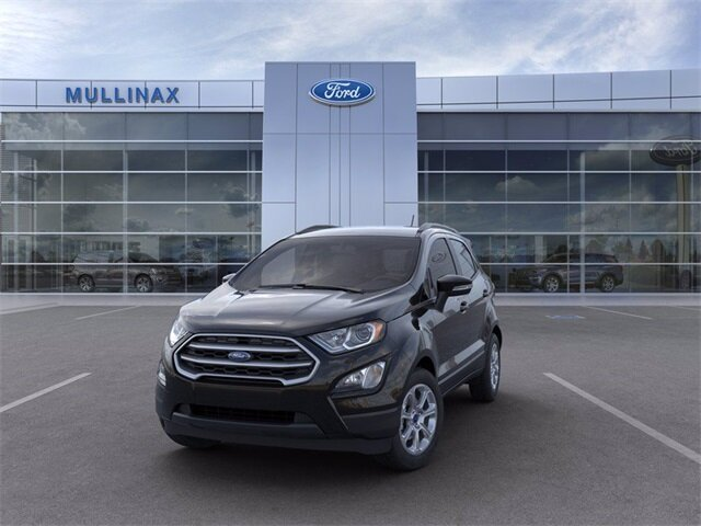2021 Shadow Black Ford EcoSport SE Automatic FWD EcoBoost 1.0L I3 GTDi DOHC Turbocharged VCT Engine 4 Door SUV
