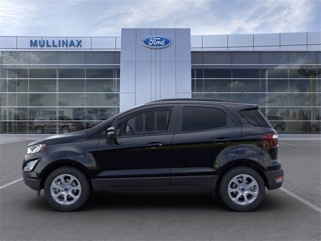 2021 Shadow Black Ford EcoSport SE 4 Door EcoBoost 1.0L I3 GTDi DOHC Turbocharged VCT Engine FWD SUV