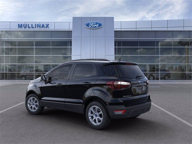 2021 Shadow Black Ford EcoSport SE SUV 4 Door FWD EcoBoost 1.0L I3 GTDi DOHC Turbocharged VCT Engine