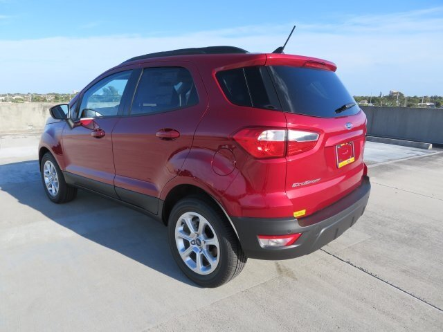 2021 Ford EcoSport SE 4 Door FWD Automatic EcoBoost 1.0L I3 GTDi DOHC Turbocharged VCT Engine