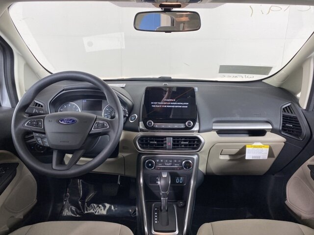 2021 Moondust Silver Metallic Ford EcoSport SE EcoBoost 1.0L I3 GTDi DOHC Turbocharged VCT Engine FWD 4 Door Automatic SUV