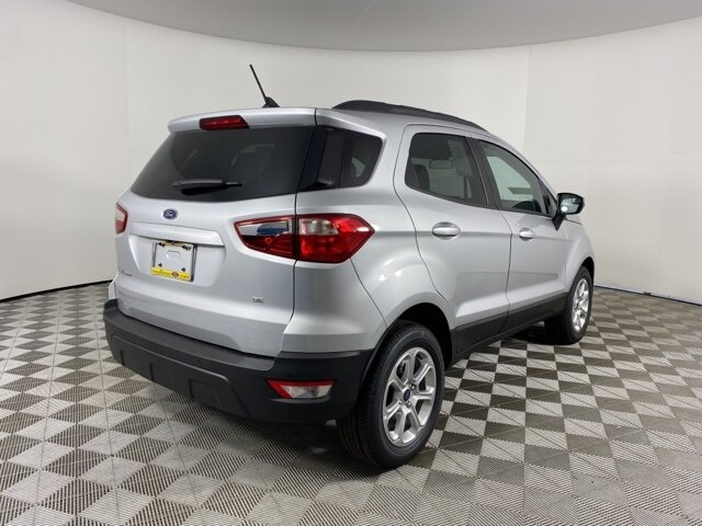 2021 Ford EcoSport SE Automatic 4 Door SUV EcoBoost 1.0L I3 GTDi DOHC Turbocharged VCT Engine FWD