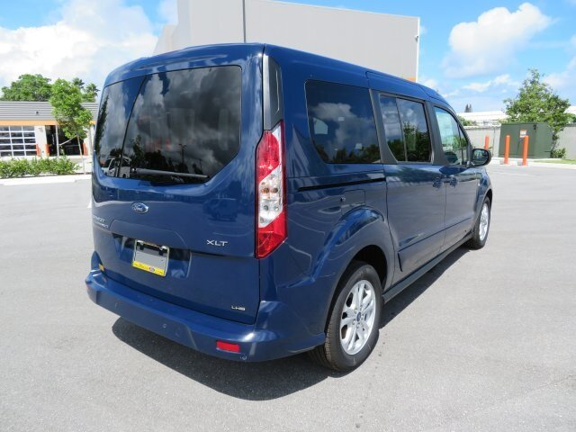 2021 Dark Blue Ford Transit Connect XLT I4 Engine FWD Automatic 4 Door Van