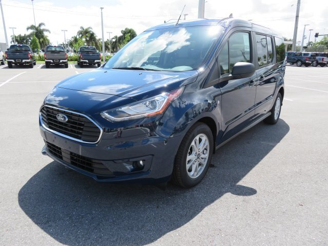 2021 Dark Blue Ford Transit Connect XLT Van Automatic FWD 4 Door