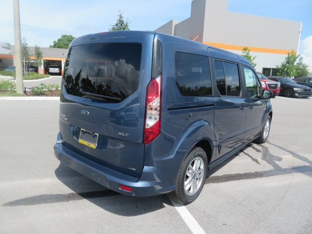 2021 Blue Metallic Ford Transit Connect XLT FWD 4 Door Van Automatic I4 Engine