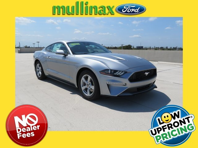 2021 Iconic Silver Metallic Ford Mustang EcoBoost RWD 2 Door Automatic EcoBoost 2.3L I4 GTDi DOHC Turbocharged VCT Engine