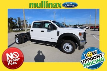2020 Oxford White Ford Super Duty F-550 DRW XL Automatic Power Stroke 6.7L V8 DI 32V OHV Turbodiesel Engine 4 Door Truck 4X4