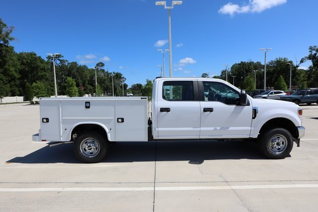 2021 Oxford White Ford Super Duty F-250 SRW XL 6.2L V8 EFI SOHC 16V Flex Fuel Engine 4 Door Automatic Truck 4X4