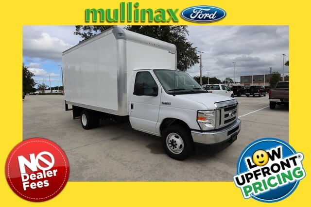 2021 Oxford White Ford E-350SD Base Specialty Vehicle Cutaway 7.3L V8 Engine Automatic 2 Door RWD