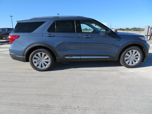 2021 Blue Ford Explorer Limited RWD 4 Door Automatic