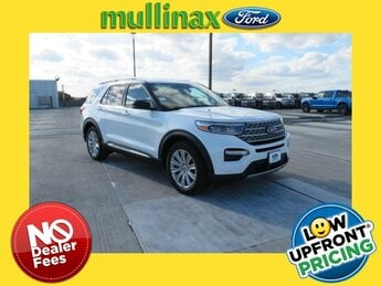 2021 Ford Explorer Limited 3.3L Hybrid Engine 4 Door RWD